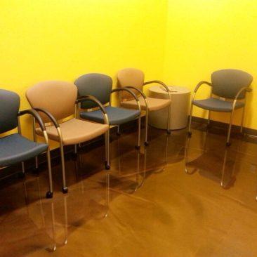 reception area flooring