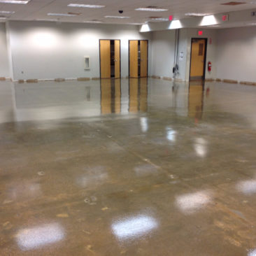 Epoxy flooring for warehouses