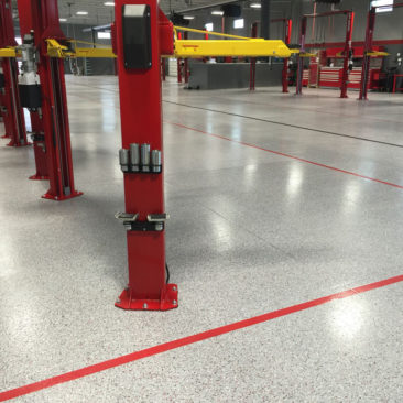 Garage floor epoxy Massachusetts