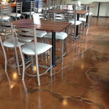 restaurant epoxy flooring