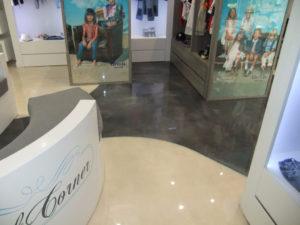 retail store epoxy flooring