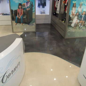 retail store epoxy flooring