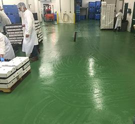food & beverage epoxy flooring