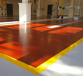 Warehouse & Industrial epoxy flooring Massachusetts