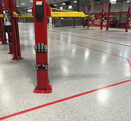 Automotive Floor Coatings Westfield MA