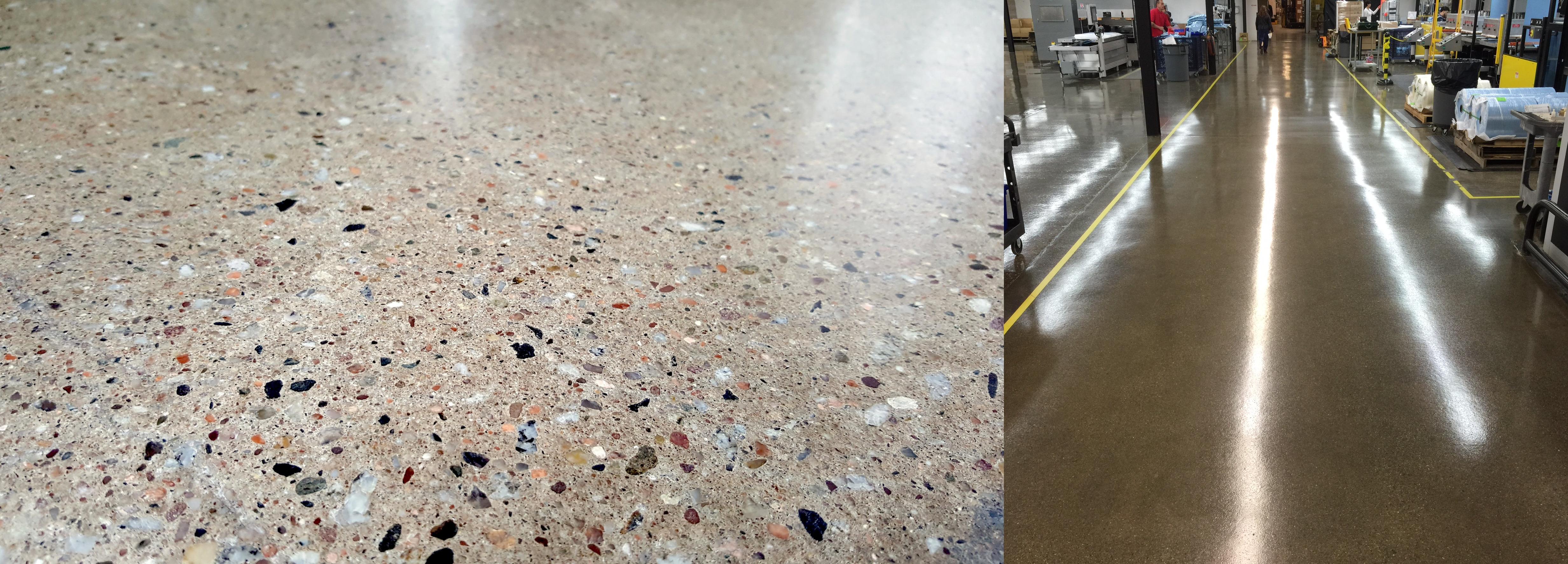 Polished Concrete vs Resinous Flooring