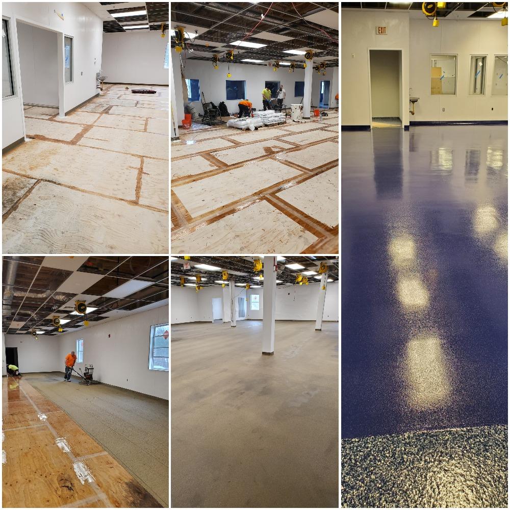 decorative concrete flooring North Easton MA