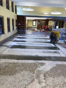 Terrazzo Installation Leicester MA