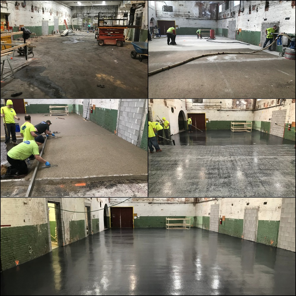 Industrial Epoxy Flooring Holyoke